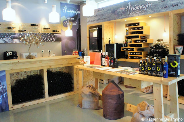 Anoskeli Tasting Room Greek Wine Island of Crete