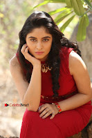Telugu Actress Zahida Sam Latest Pos in Red Gown at RF Films New Movie Opening  0266.JPG