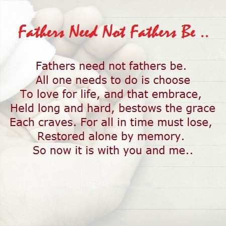 Famous Happy Father's Day Poems From Girlfriends