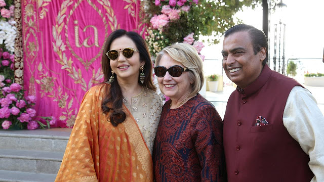 Inside photos and videos from Isha Ambani's opulent wedding