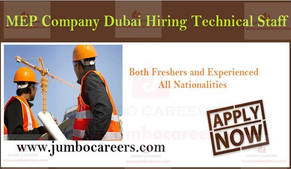 Current Dubai job vacancies, Latest jobs in Dubai with salary and benefits,