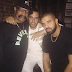 .@Drake and .@FrenchMontana at Jue Lan Clun in NYC