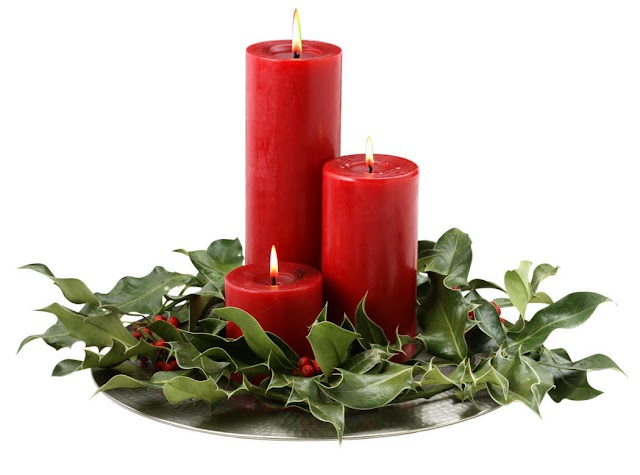 Christmas Candle Designs, Decorations and Models