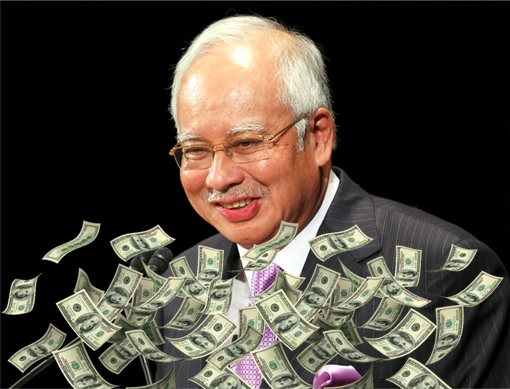 Image result for Foto Najib sokong donal Trum