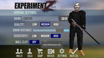 Download Experiment Z – Zombie Survival