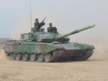 Tank terbaik cina