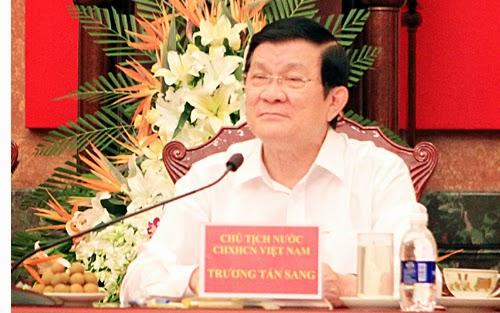 Mọi con đường đều dẫn về Chủ tịch nước Trương Tấn Sang