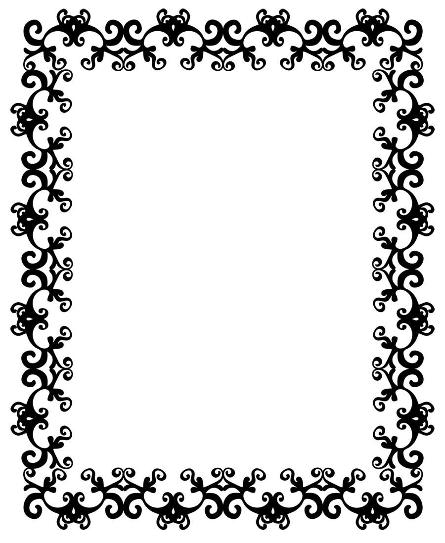 clip art borders frames download - photo #12