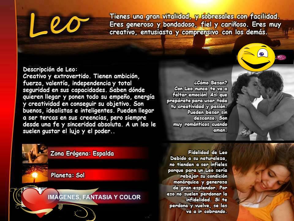 Imagenes, Fantasia Y Color: CARACTERISTICAS DEL SIGNO LEO