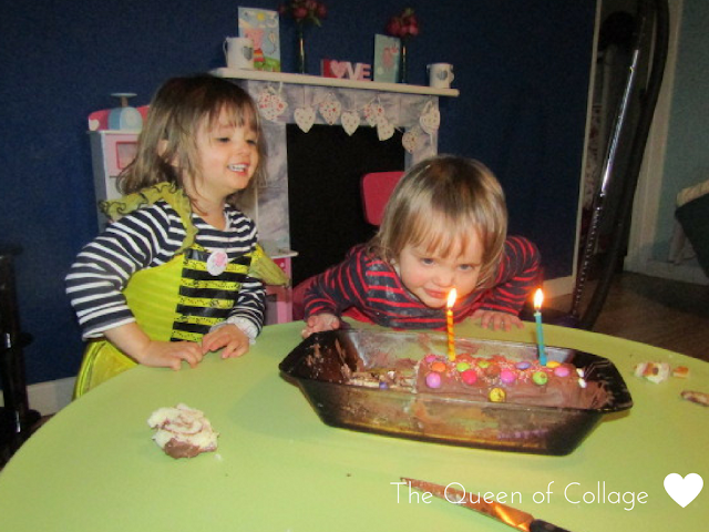 The Caterpillar Birthday Cake {Ordinary Moments}