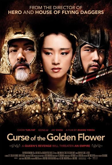 Curse of Golden Flower movie poster