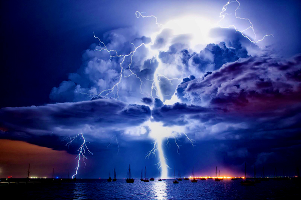 Amalan saat mendung, turun hujan dan setelah hujan