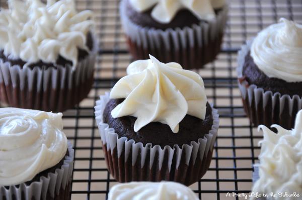 Chocolate Beet Cupcakes