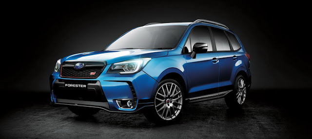 Subaru Forester STI tS own add the Australian market only equipment