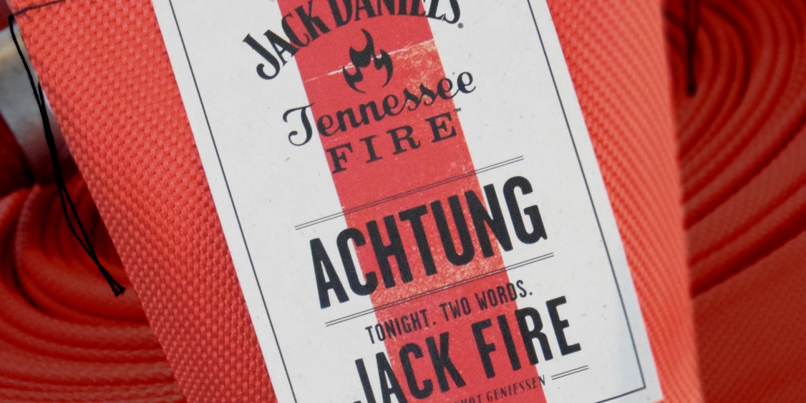 Jack Daniel's Tennessee Fire Limited Edition Fire Hose