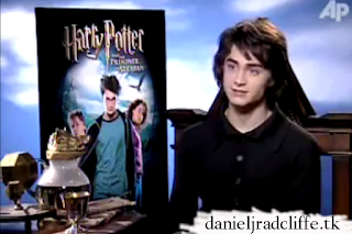 AP interview (Prisoner of Azkaban DVD launch)
