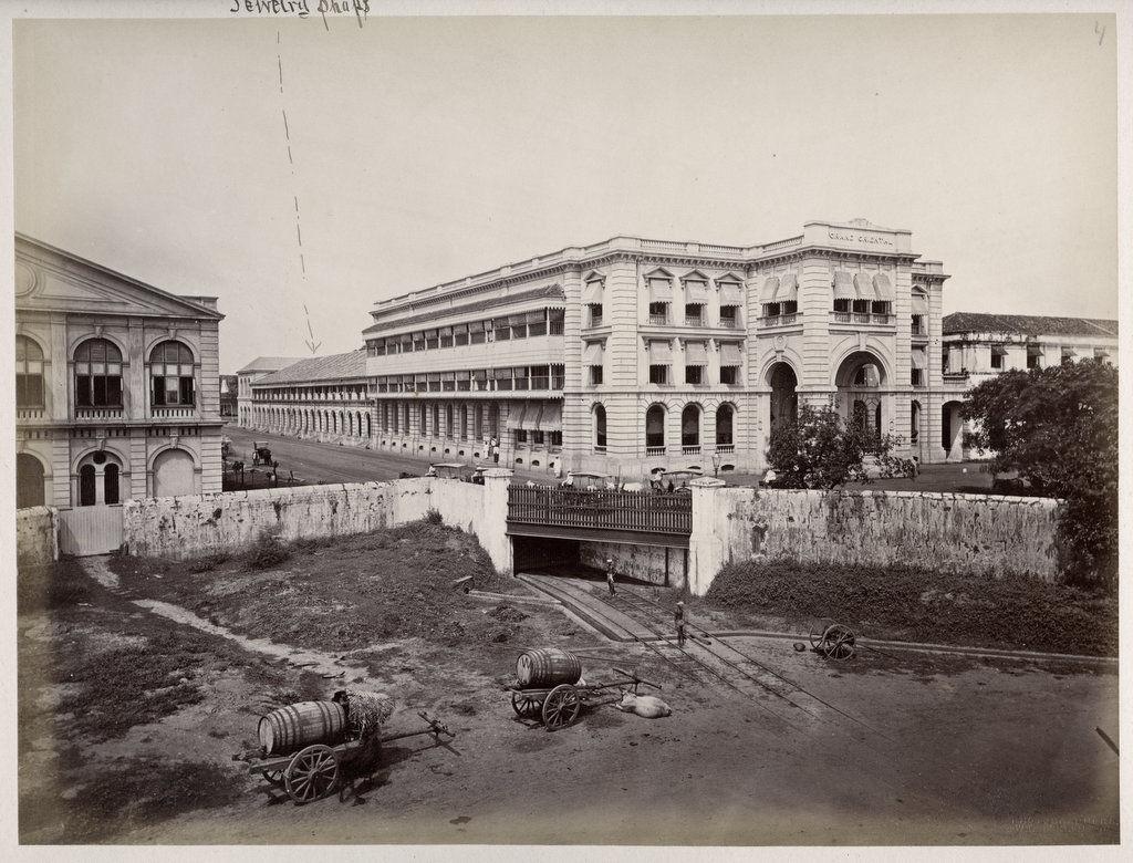 Grand Oriental Hotel - Colombo Ceylon (Sri Lanka) 1880's