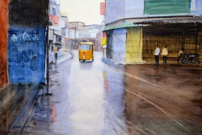 Современный индийский художник. Ramesh Jhawar