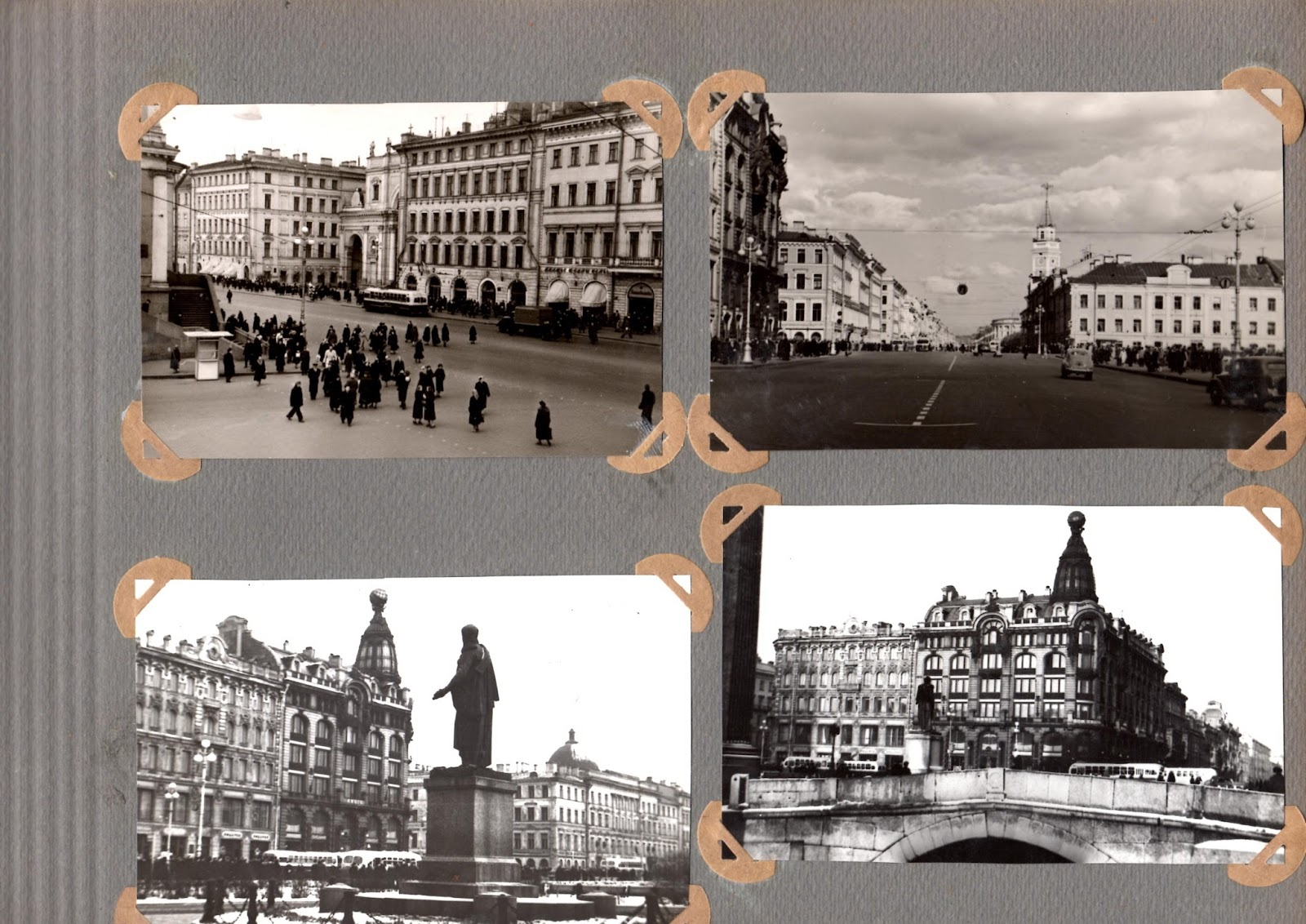 сборник фотографий ленинграда только снимается