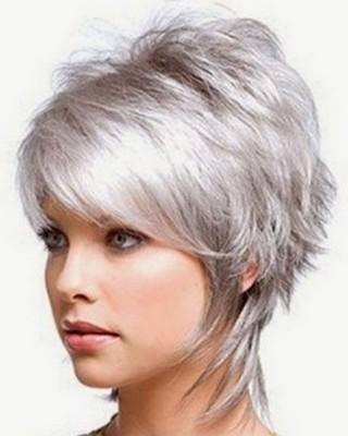 Style rambut wanita shaggy