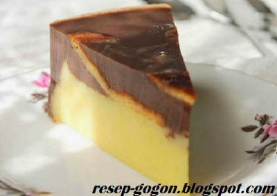 Resep Membuat Puding Kentang Coklat
