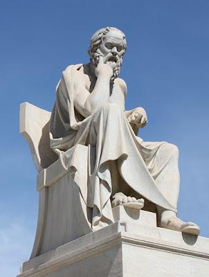 Statua di Socrate, Atene