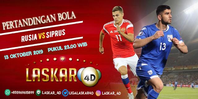 Prediksi Pertandingan Bola Cyprus vs Russia 13 Oktober 2019