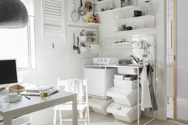 Catálogo IKEA 2019: cocinas pequeñas