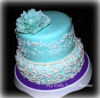 My Cake Sweet Dreams Sweet 17th Birthday Cake
