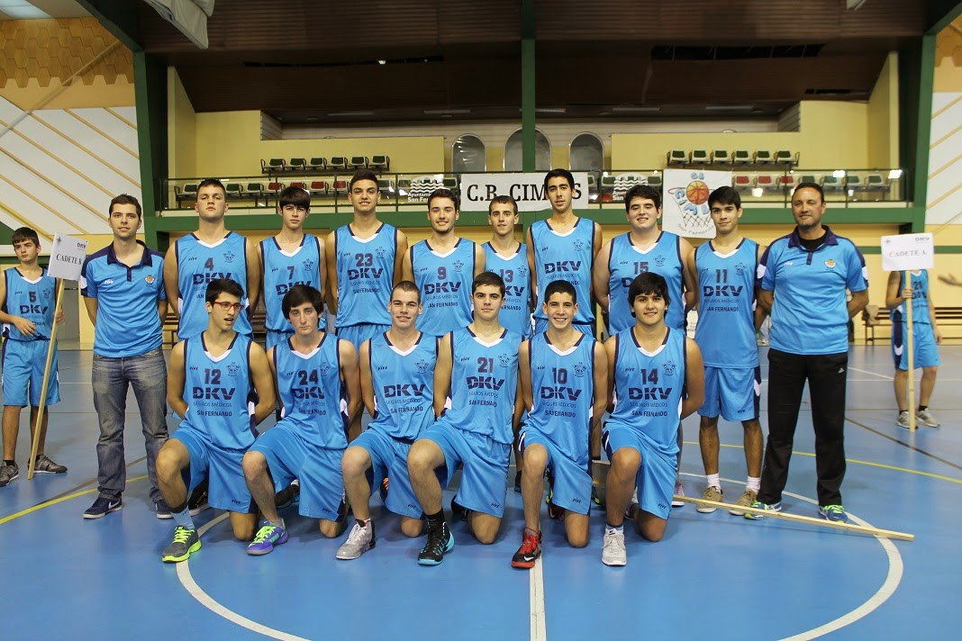 VIVE EL BASKET CON EDUARDO BURGOS  El equipo junior DKV San Fernando ... 4fb8f4c11c2