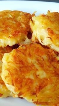 Crispy Cheesy Hash Browns
