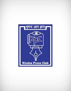 khulna press club vector logo, khulna press club logo, khulna press club, khulna, press, club