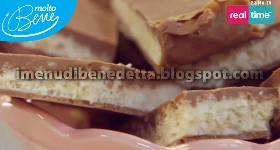 Barrette Al Cioccolato E Riso Soffiato La Ricetta Di Benedetta Parodi