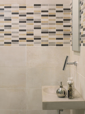 Tiled bathroom from Tile of Spain