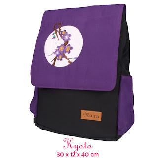 tas ransel laptop, tas ransel dan coverbag, ransel muira