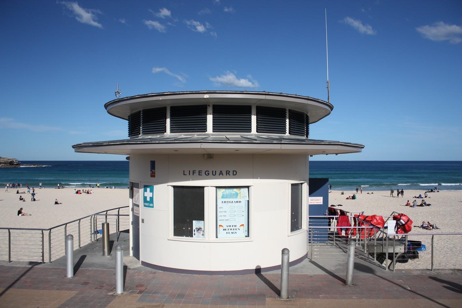 Sydney City And Suburbs Bondi Beach Lifeguard Tower