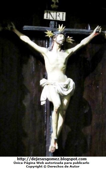 Foto de Jesús Cristo en la cruz del Museo de Arte Religioso. Foto de Jesús en la cruz tomada por Jesus Gómez