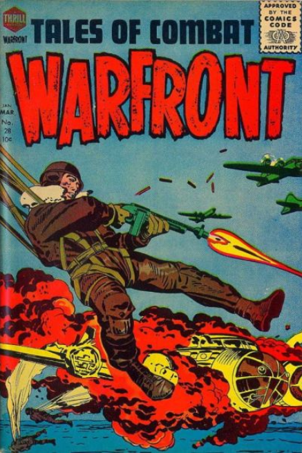 Kirby Warfront Harvey Comics