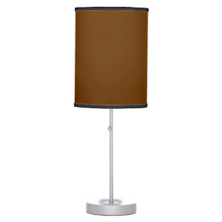Brown lamp