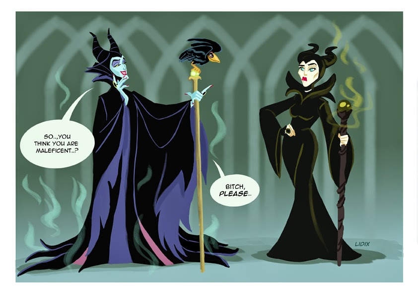 Diaval And Art Maleficent Fan