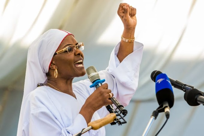 Mugabe's wife says ready to take over in Zimbabwe
