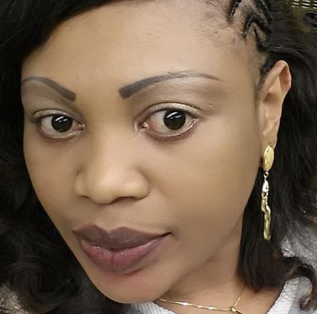 Dear ladies, don't ever shave your eyebrows - woman recounts ordeal