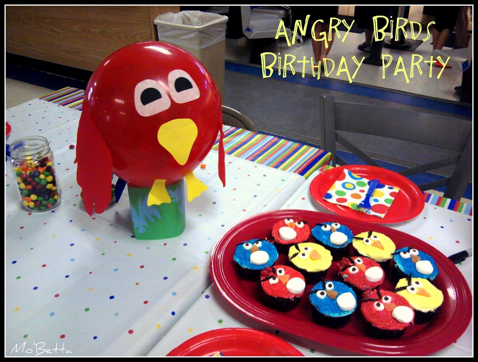 Makin' It Mo' Betta: One Angry (Bird) Birthday Party
