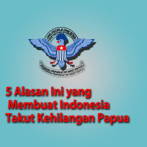 5 Alasan Ini Yang Membuat Indonesia Takut Kehilangan Papua