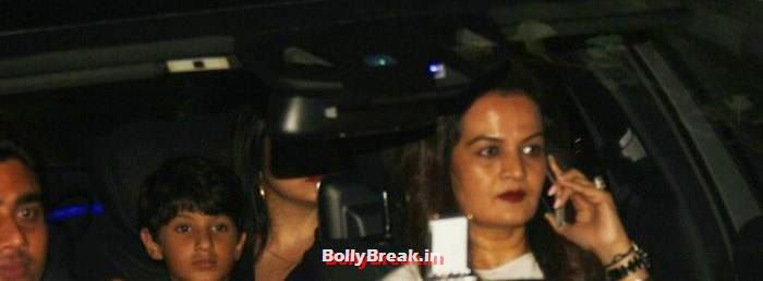 Rekha, Celebs clicked at 'Kick' Special Screening at Yash Raj Studios