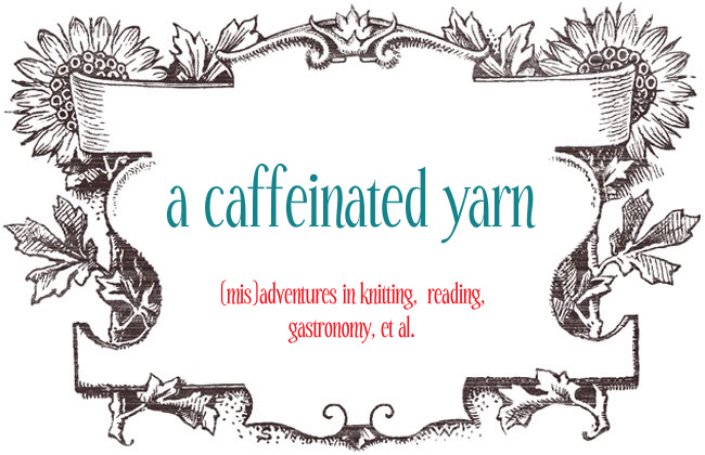 a caffeinated yarn