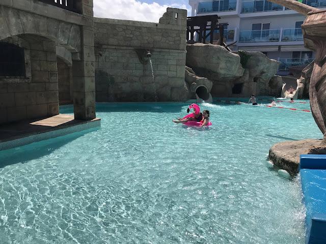 Splash pool area Pirates Village Majorca