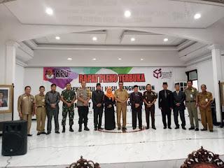 Kodim 1013/Mtw Amankan Rapat Pleno Tingkat Kabupaten di Barut dan Mura