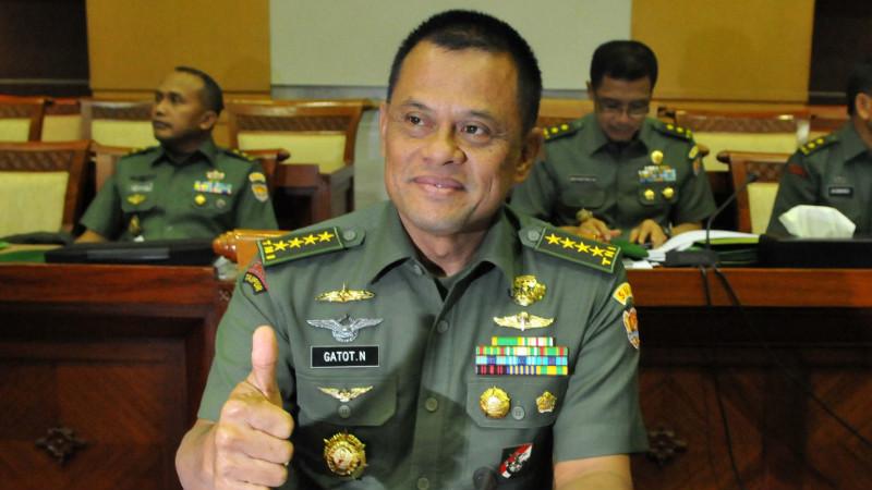 Panglima TNI Jenderal Gatot Nurmantyo