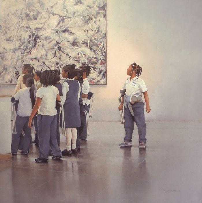 J.M. Brodrick - The Jackson Pollock